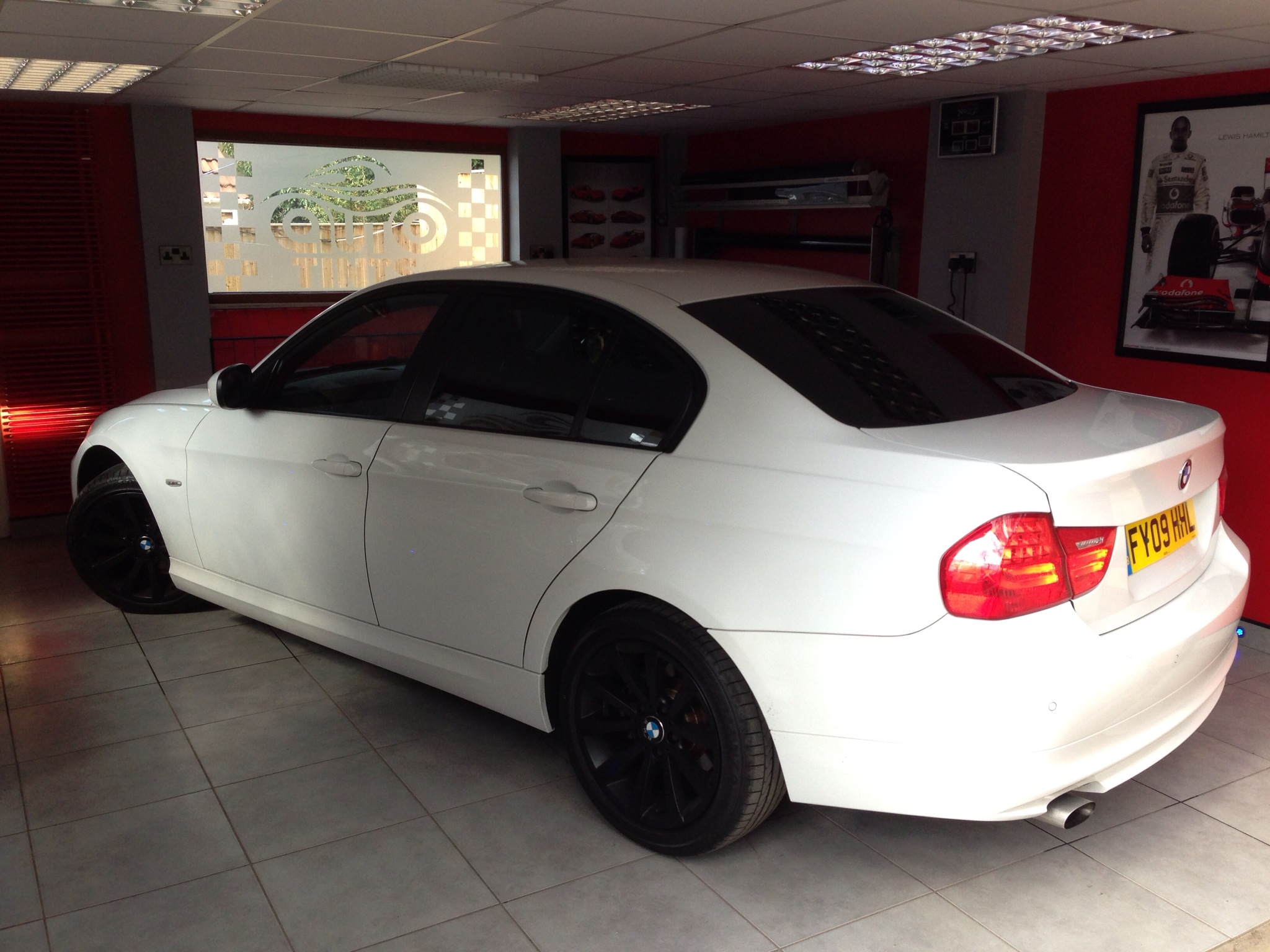 Bmw 5 series autotints and shadydays for Mercedes benz factory tint